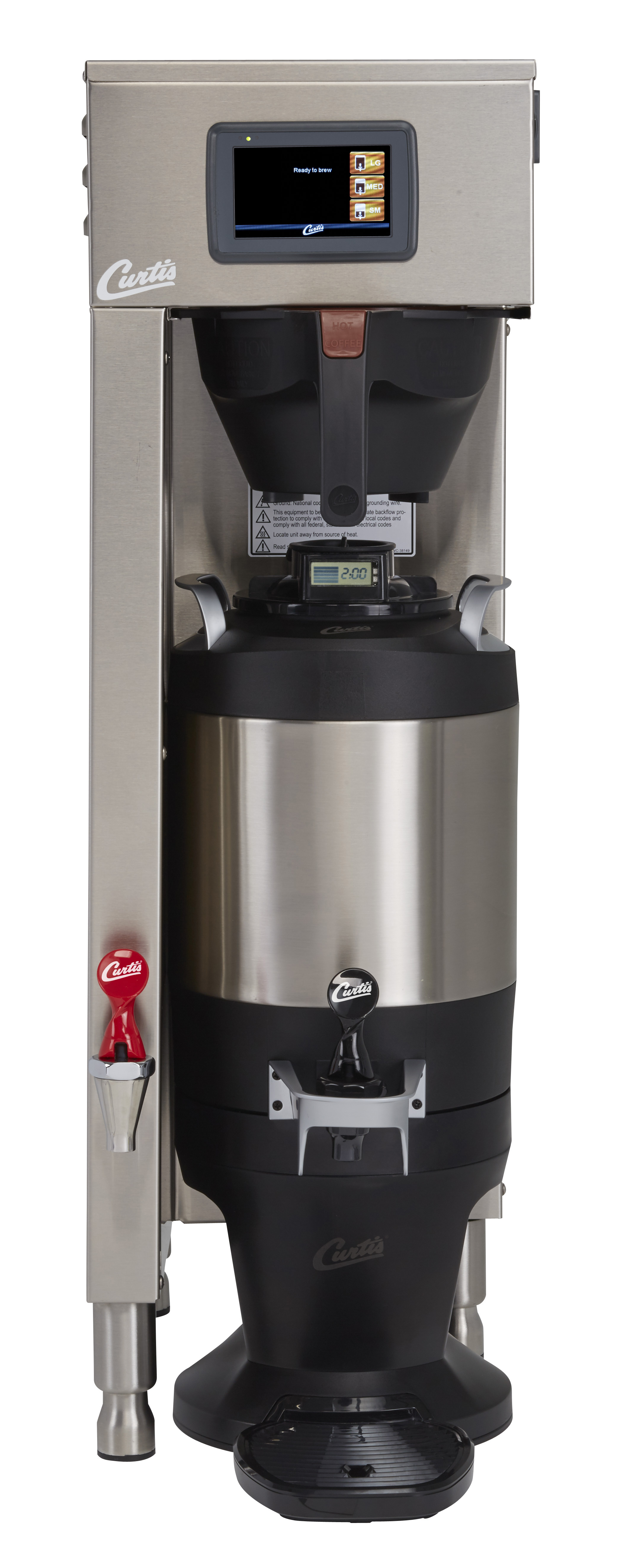 16e4f8a1a BREWER NEW CURTIS G4 TP2S10 SINGLE AUTOMATIC 220 VOLTS (SERVER NOT INCLUDED)